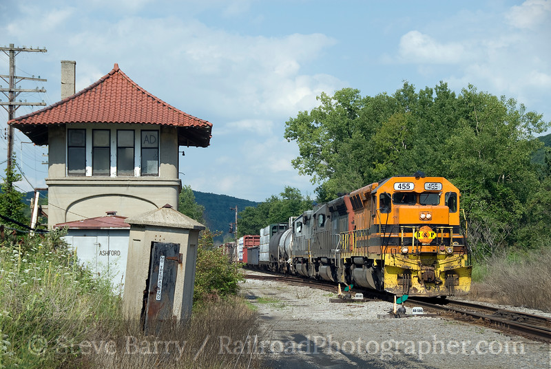 Photo 1589<br /> Buffalo & Pittsburgh; Ashford Junction, New York<br /> August 1, 2009