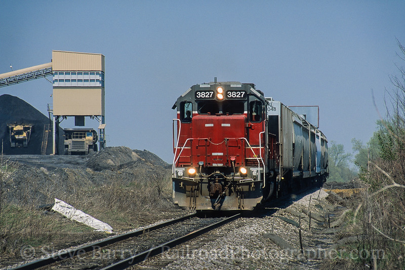 Photo 4576<br /> Indiana Southern<br /> Buckskin, Indiana<br /> April 2005