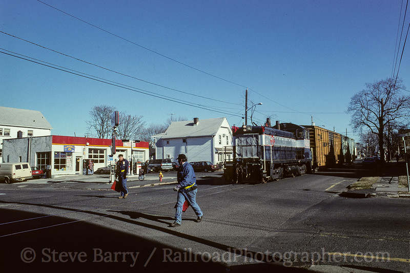 Photo 3777<br /> New York & Greenwood Lake; Garfield, New Jersey<br /> January 1998