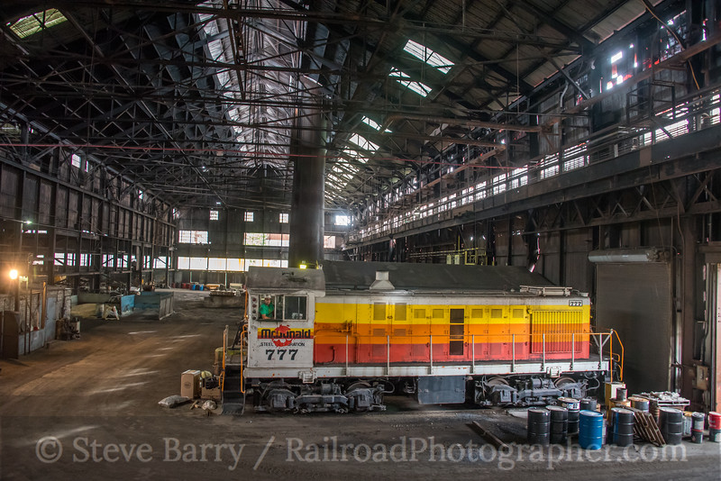 Photo 5235<br /> McDonald Steel<br /> McDonald, Ohio<br /> September 27, 2018