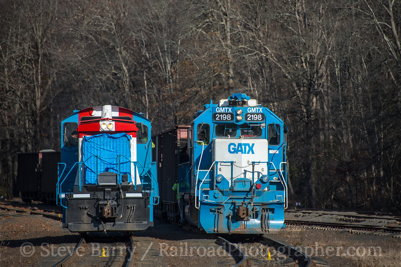 Photo 5367<br /> Branford Steam Railroad<br /> Pine Orchard, Connecticut<br /> November 12, 2018
