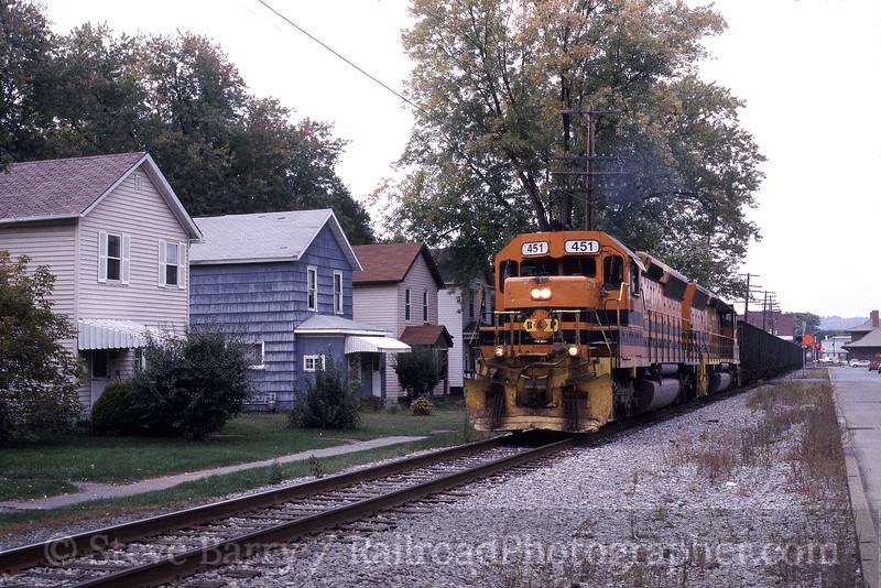 Photo 0087<br /> Buffalo & Pittsburgh; DuBois, Pennsylvania<br /> October 2004