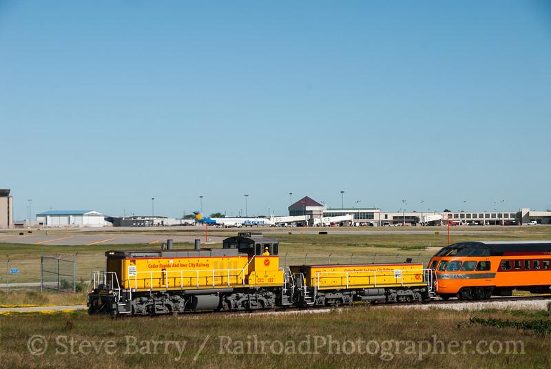 Photo 2387<br /> Cedar Rapids & Iowa City; Eastern Iowa Airport, Swisher, Iowa<br /> June 22, 2012