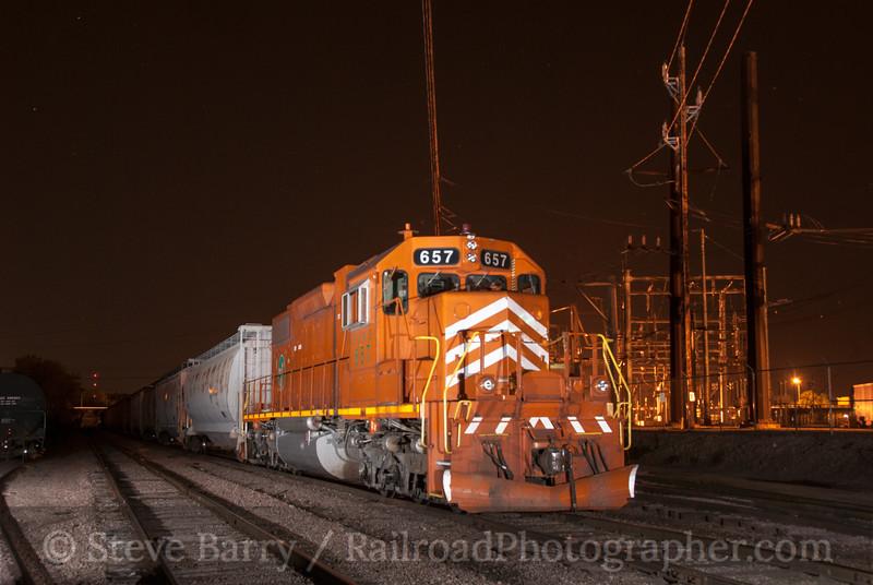 Photo 2389<br /> Canadian National; Cedar Rapids, Iowa<br /> June 22, 2012