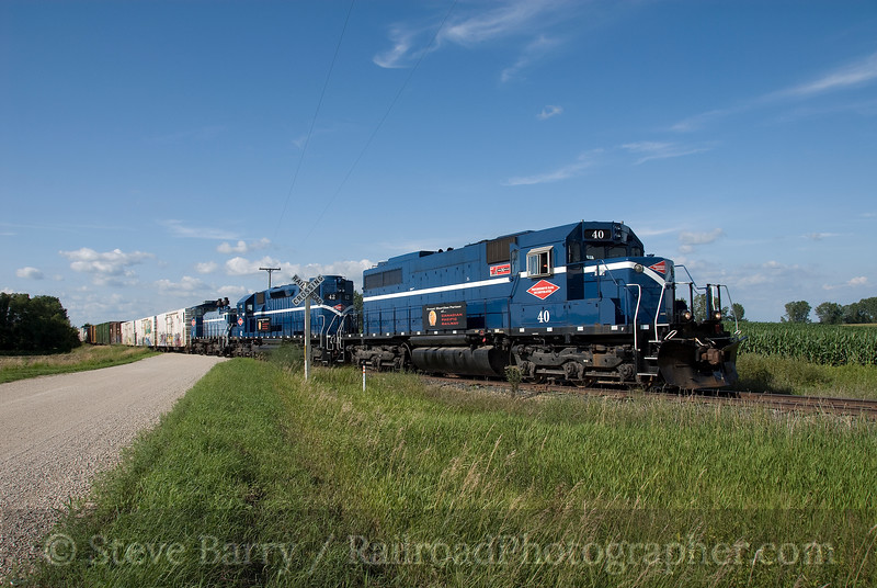 Photo 1641<br /> Progressive Rail; Eureka Center, Minnesota<br /> August 10, 2009