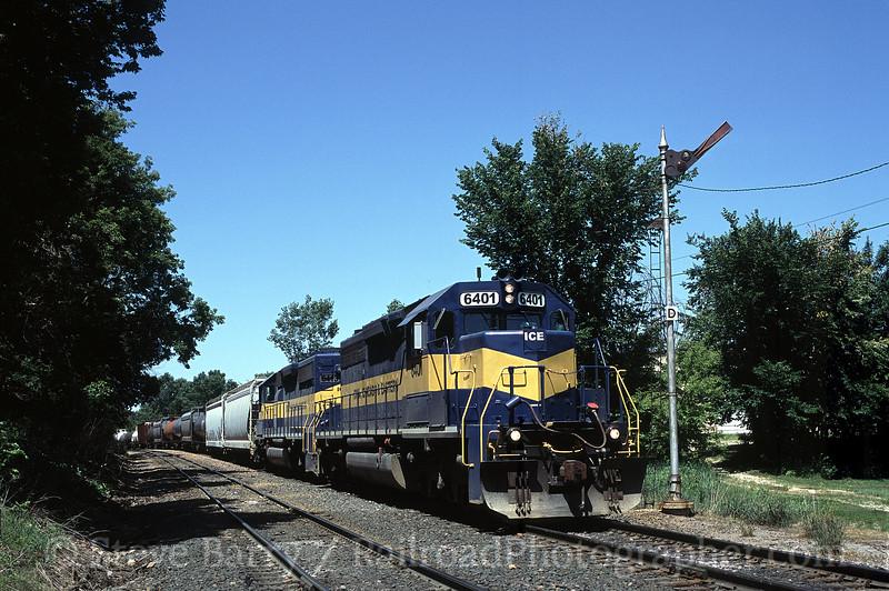 Photo 1066<br /> Iowa, Chicago & Eastern; Mason City, Iowa<br /> July 2004
