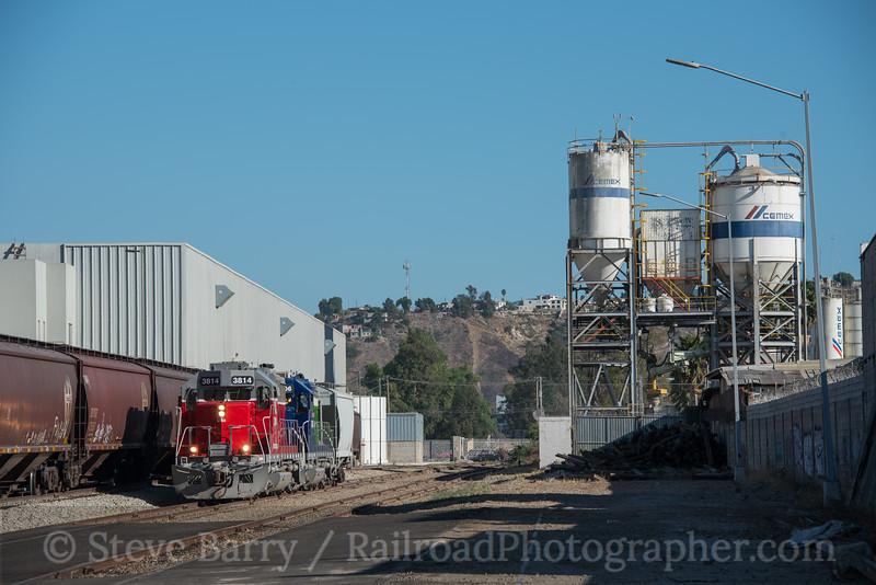 Photo 4321<br /> Baja California Railroad<br /> Estacion Garcia, Tijuana, Baja California<br /> September 19, 2017