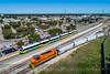 Photo 5281<br /> Dallas, Garland & Northern and DART<br /> Garland, Texas<br /> October 10, 2018