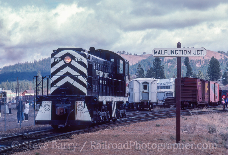 Photo 2948<br /> Portola Railway Museum; Portola, California<br /> May 1991