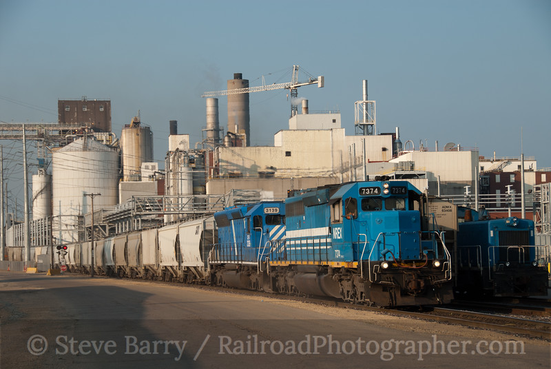 Photo 2153<br /> Iowa, Chicago & Eastern (Canadian Pacific); Clinton, Iowa<br /> July 17, 2011