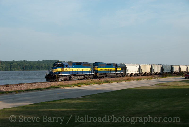 Photo 2156<br /> Iowa, Chicago & Eastern (Canadian Pacific); LeClaire, Iowa<br /> July 18, 2011