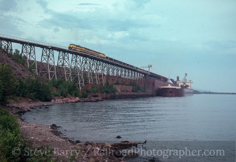 Photo 2848<br /> LTV Steel (Erie Mining); Taconite Harbor, Minnesota<br /> September 1991