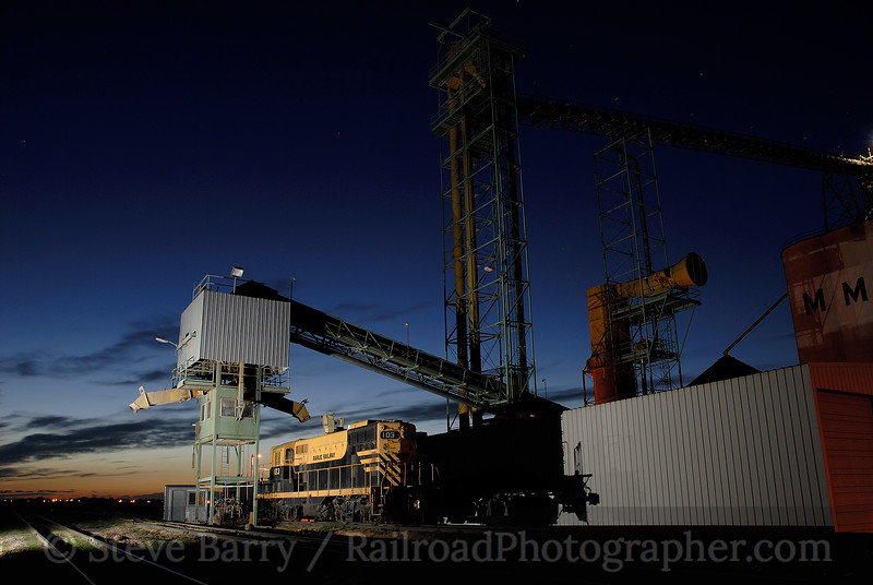 Photo 1258<br /> MMI Grain; Rudyard, Montana<br /> September 9, 2008