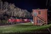 Photo 4630<br /> Cincinnati Dinner Train<br /> Rendcomb Tower, Linwood, Ohio<br /> April 7, 2018