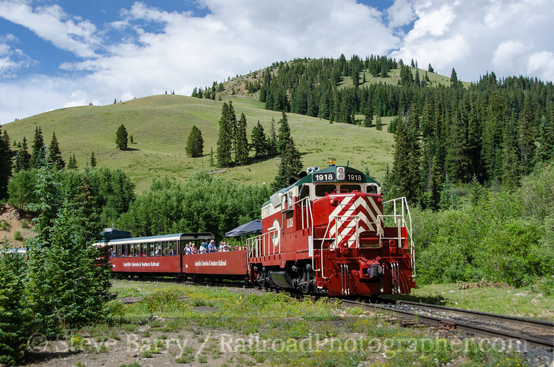 Photo 3901<br /> Leadville, Colorado & Southern; French Gulch Tank, Climax, Colorado<br /> July 23, 2016