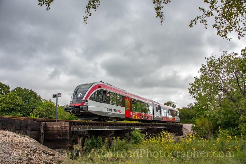 Photo 5270<br /> Capitol MetroRail<br /> Austin, Texas<br /> October 9, 2018