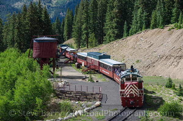 Photo 3902 Leadville, Colorado & Southern; French Gulch Tank, Climax, Colorado July 23, 2016