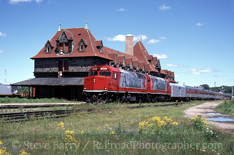 Photo 0788<br /> The Acadian; McAdam, New Brunswick<br /> July 2002