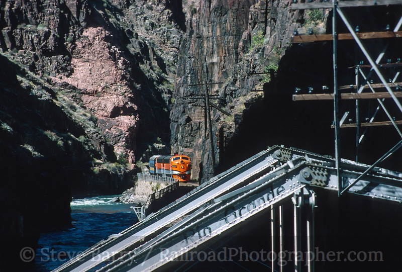 Photo 4099<br /> Canon City & Royal Gorge; Royal Gorge, Canon City, Colorado<br /> September 1999