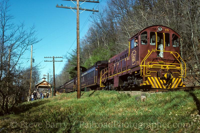 Photo 4515<br /> Oil Creek & Titusville<br /> Drake Well, Titusville, Pennsylvania<br /> November 1991