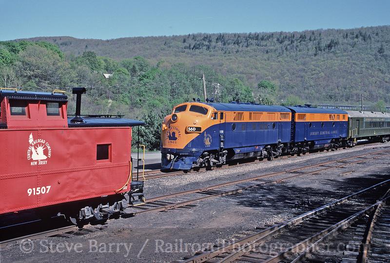 Photo 1661<br /> Rail Tours; Nesquehoning, Pennsylvania