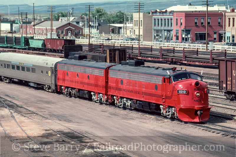 Photo 3009 Colorado & Wyoming; Laramie, Wyoming June 1988