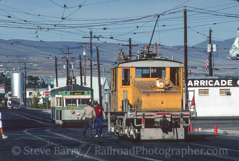 Photo 5410<br /> Yakima Valley Trolleys<br /> Yakima, Washington<br /> June 1997