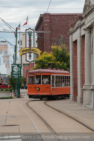 Photo 3173 Fort Smith Trolley; Fort Smith, Arkansas June 12, 2014
