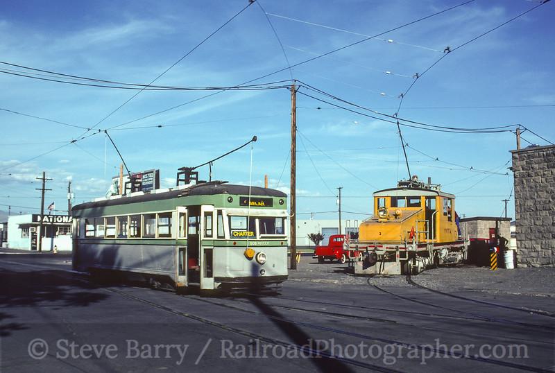 Photo 3630<br /> Yakima Valley Trolleys; Yakima, Washington<br /> June 14, 1997
