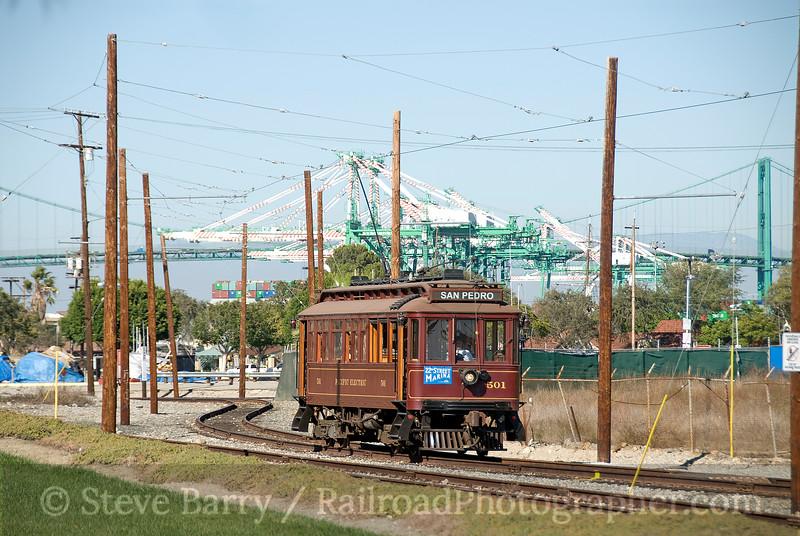 Photo 1682<br /> San Pedro Trolley; San Pedro, California<br /> October 30, 2009