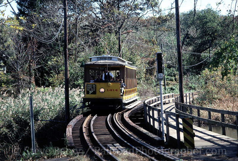 Photo 0141<br /> Shore Line Trolley Museum; East Haven, Connecticut<br /> October 1985