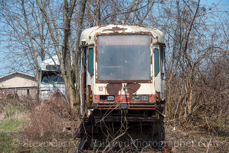 Photo 4626<br /> Port Authority of Allegheny County<br /> Harbor Hills, Ohio<br /> April 5, 2018