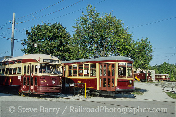Photo 4210 Halton County Radial Railway; Milton, Ontario September 2005