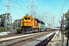 Photo 4473<br /> Atchison, Topeka & Santa Fe<br /> McCook, Illinois<br /> October 1990