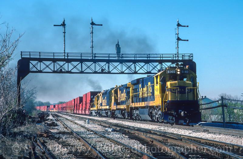 Santa Fe; Joliet IL; 5/1988