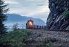 Photo 2953<br /> BC Rail; Porteau, British Columbia<br /> May 24, 1986