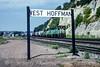 Photo 5164<br /> Burlington Northern<br /> West Hoffman, St. Paul, Minnesota<br /> September 1991