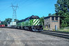 Photo 5157<br /> Burlington Northern<br /> Westminster, St. Paul, Minnesota<br /> September 1991