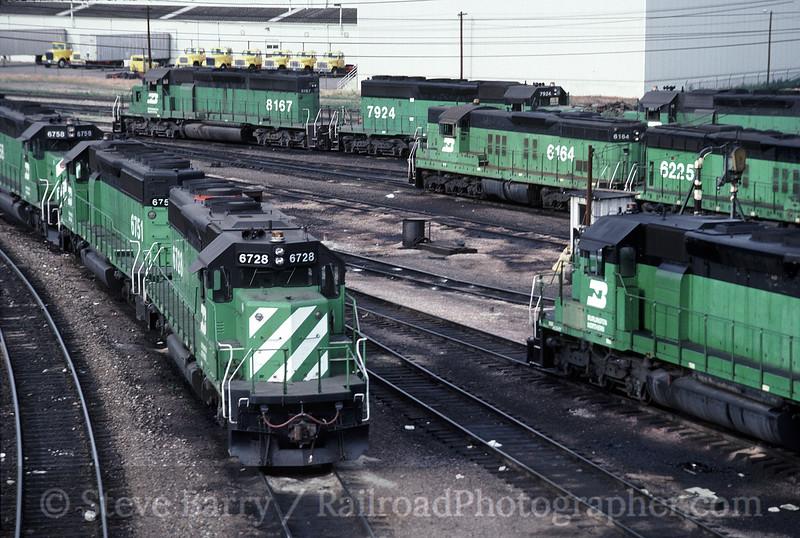 Photo 1583<br /> Burlington Northern; Denver, Colorado