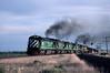 Photo 0800<br /> Burlington Northern; Bragdon, Colorado<br /> May 1985