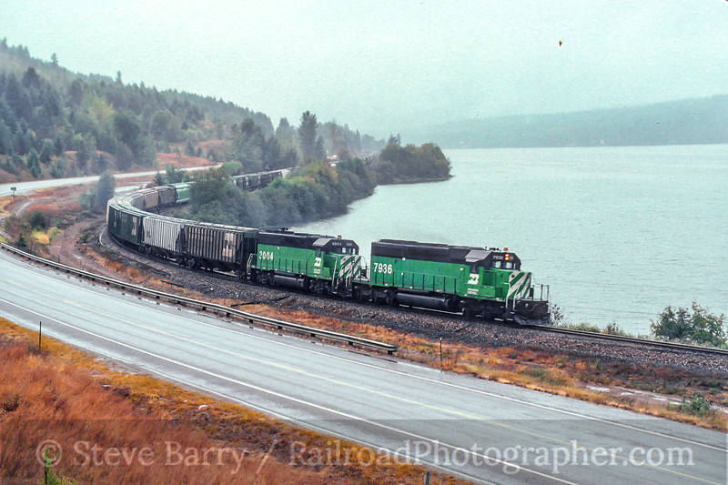 Burlington Northern; Westmond ID; 9/1988