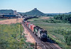 Photo 2904<br /> Burlington Northern; Castle Rock, Colorado<br /> June 1988