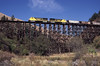 Photo 1567<br /> Camas Prairie RailNet; Rock Creek Trestle, Culdesac, Idaho<br /> September 2000