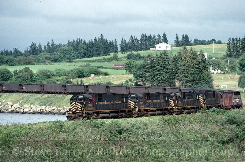 Photo 0104<br /> Cape Breton & Central Nova Scotia; Grand Narrows, Nova Scotia<br /> August 27, 1996