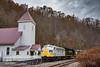 Photo 4424<br /> Clinchfield Santa Train<br /> Dante, Virginia<br /> November 18, 2017