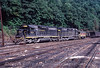 Photo 3021<br /> Family Lines (Clinchfield); Dante, Virginia<br /> September 1982