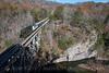 Photo 4421<br /> Clinchfield Santa Train<br /> Pool Point, Elkhorn City, Kentucky<br /> November 17, 2017