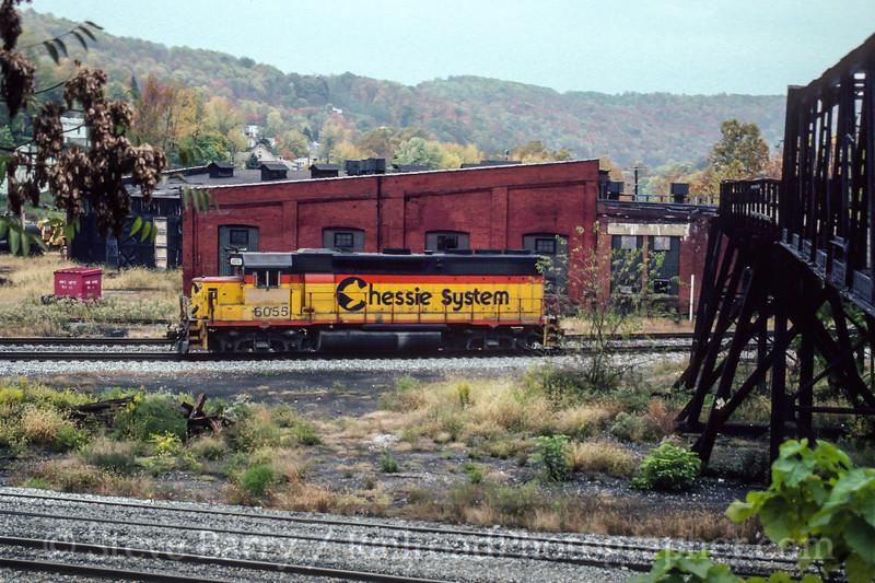Photo 4480<br /> CSX Transportation<br /> Grafton, West Virginia<br /> October 1991
