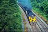 Photo 4517<br /> Chessie System/Amtrak<br /> Fairfax Station, Virginia<br /> June 1981
