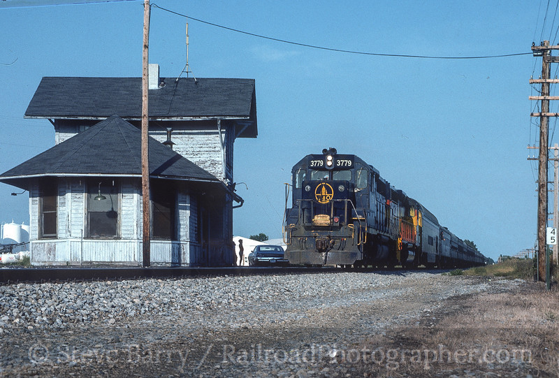 Photo 4511<br /> Chessie System<br /> Midland City, Ohio<br /> September 1984